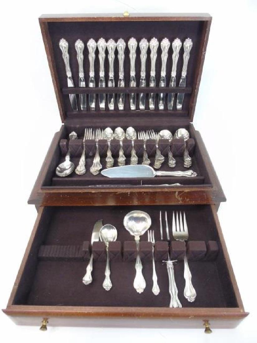 Sterling Silver Service for 12 w Many Serving Item