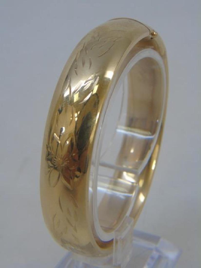 Estate Jewely Lot - Gold Filled Bracelet & Earring - 3