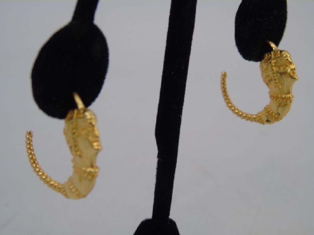 Estate Jewely Lot - Gold Filled Bracelet & Earring - 4