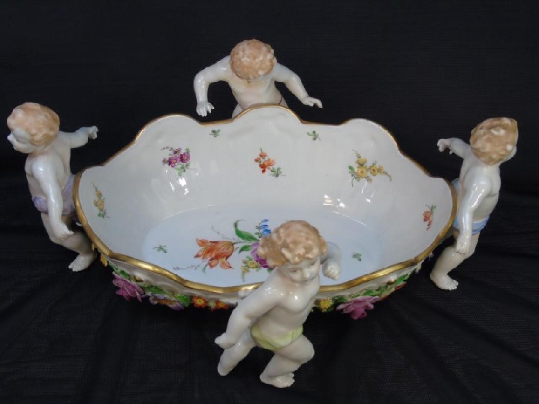 Schierholz Porcelain Detailed Bowl with 4 Cherubs - 2