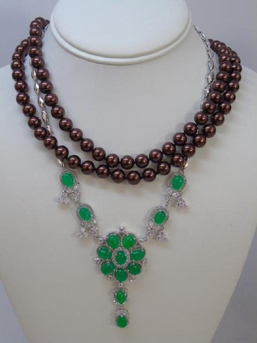 Group Lot of Various Costume Jewelry Pieces - 3