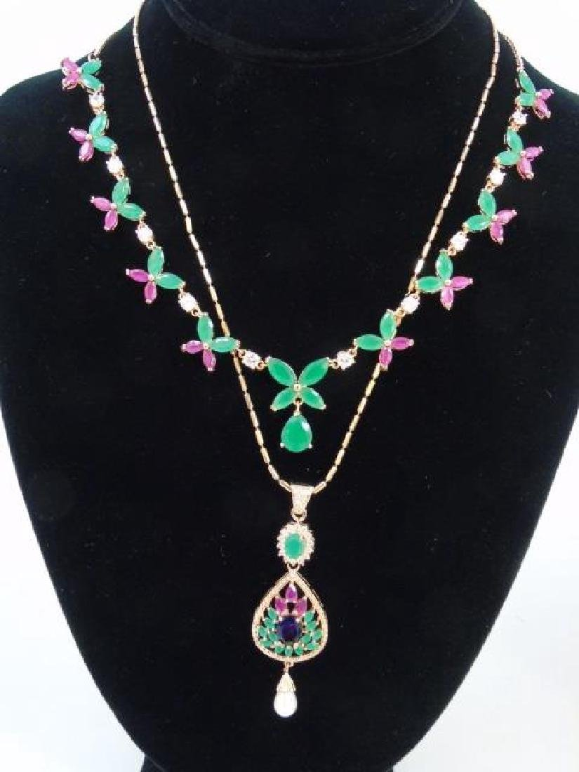 Group Lot of Various Costume Jewelry Pieces - 4