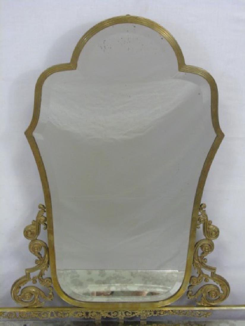 Antique Concord Hotel Gilt Bronze Vanity - 3