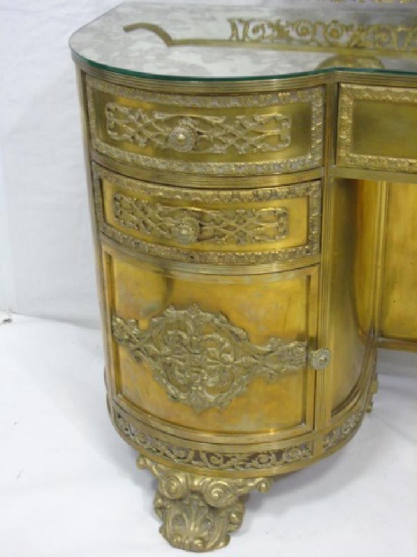 Antique Concord Hotel Gilt Bronze Vanity - 5