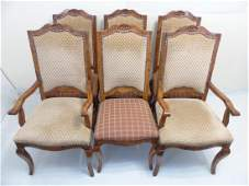 Six French Country Dining Chairs by Guy Chaddock