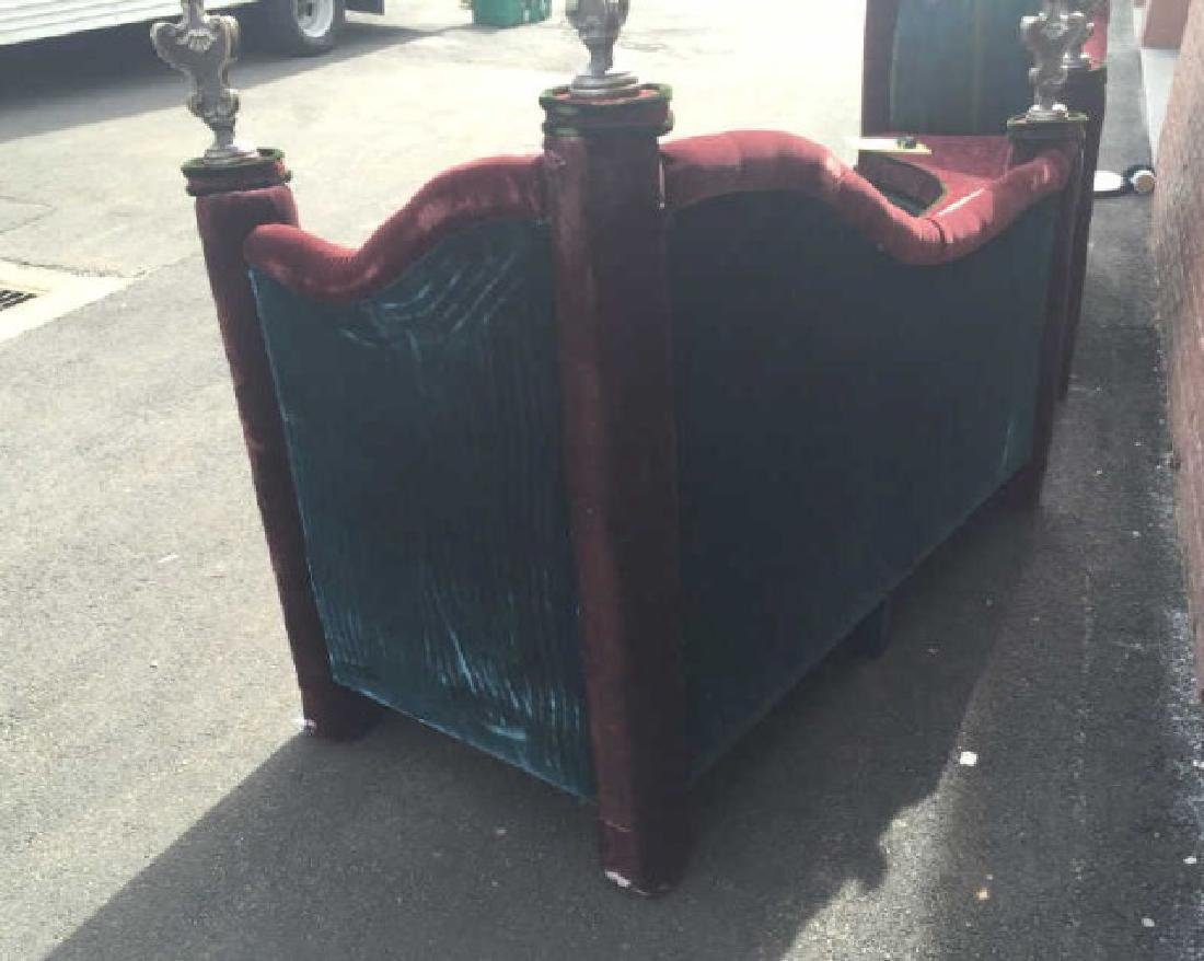 Custom Made Contemporary Art Deco Settee Bench - 3