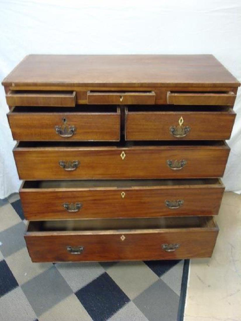 Antique 19th C English Chest of Drawers - 4