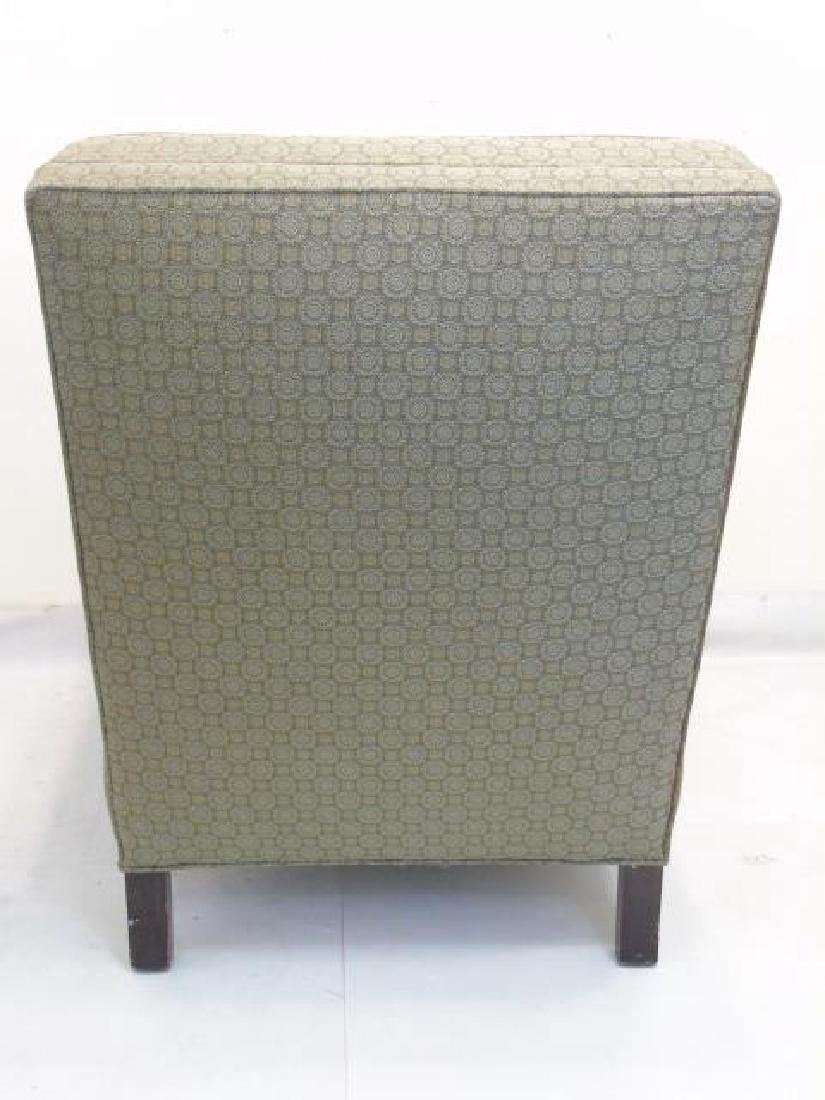 Upholstered Arm Chair with Wood Frame & Pillow - 2