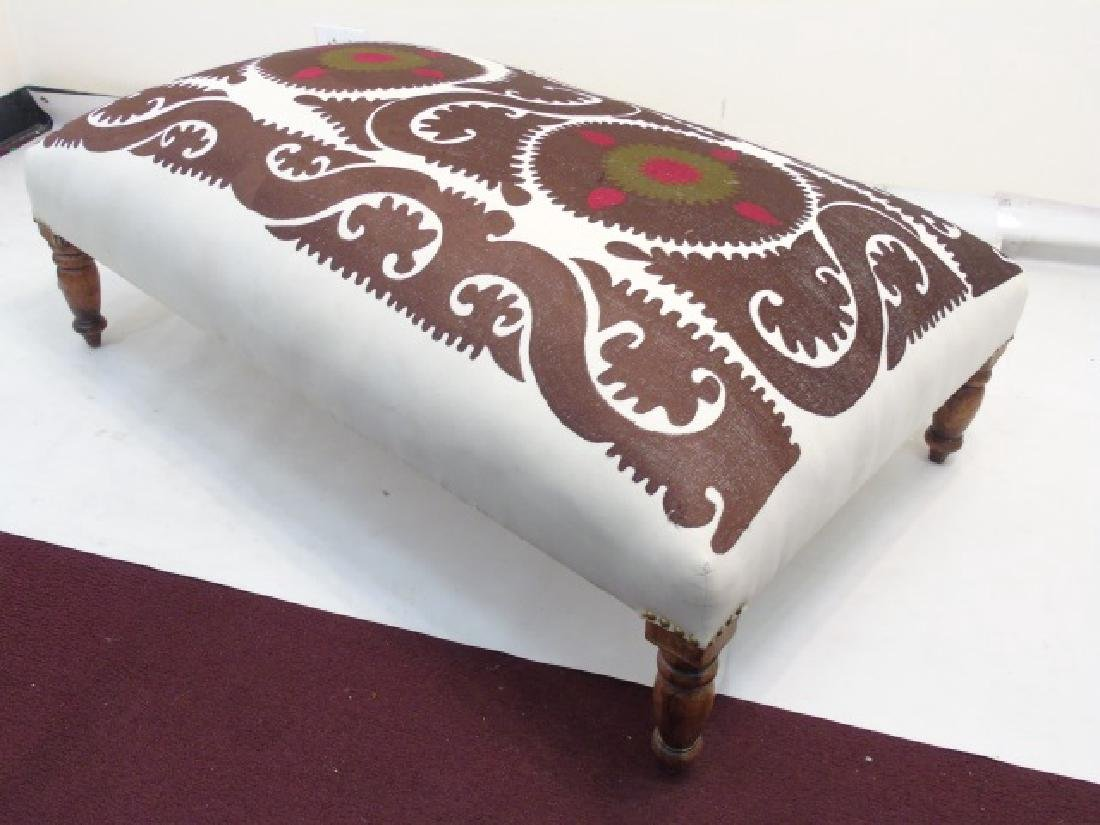 Large Custom Contemporary Upholstered Ottoman - 2
