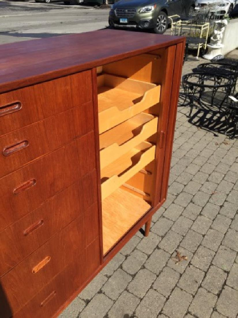 Mid Century Modern Chest of Drawers & Side Chair - 2