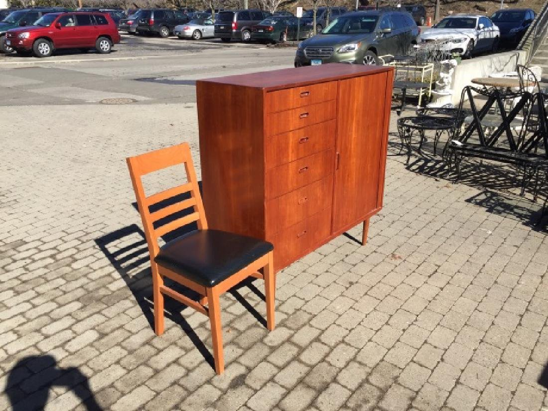 Mid Century Modern Chest of Drawers & Side Chair - 3
