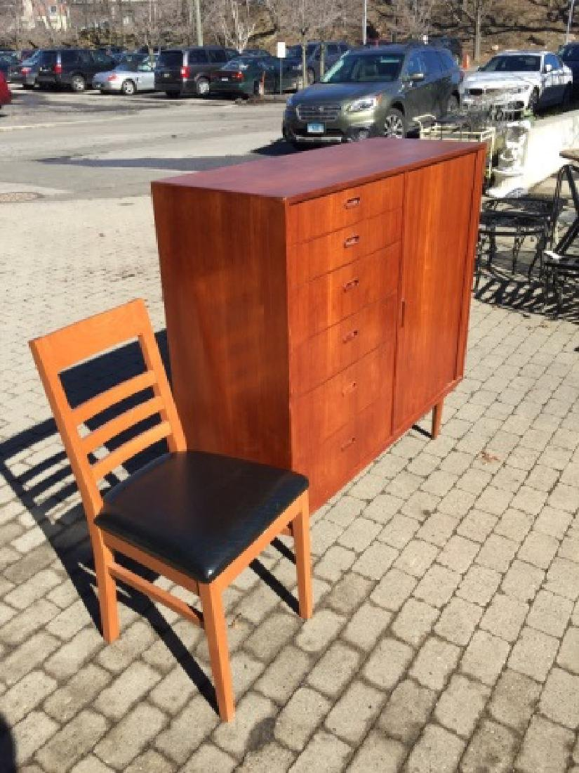 Mid Century Modern Chest of Drawers & Side Chair - 4