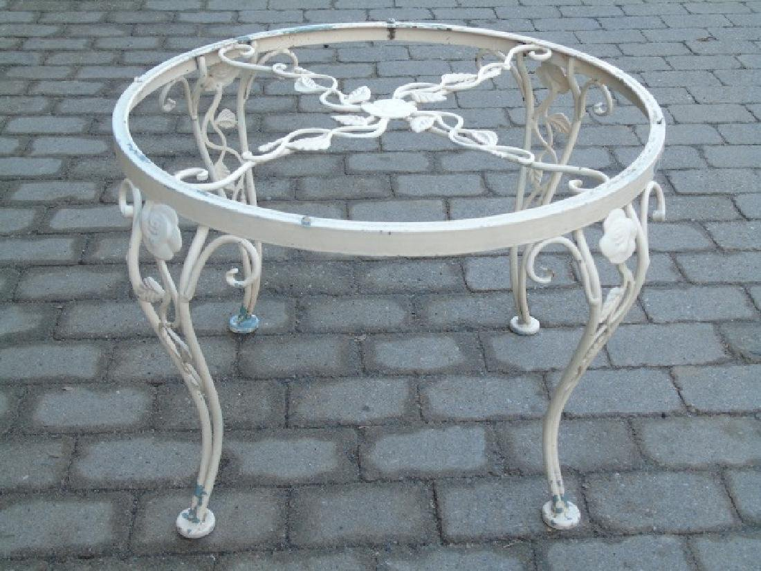 3 Metal & Glass Outdoor Tables for Patio / Deck - 2