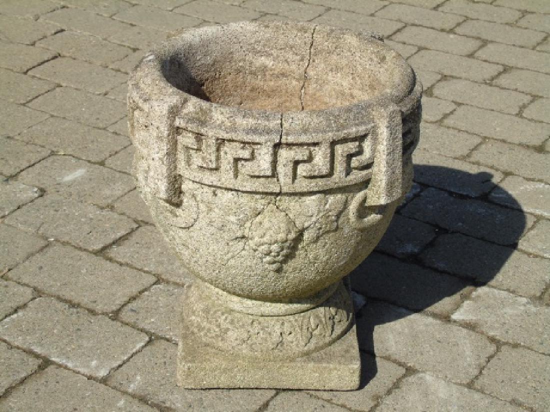 3 Cast Neo Classical Garden Planter Pots / Urns - 2