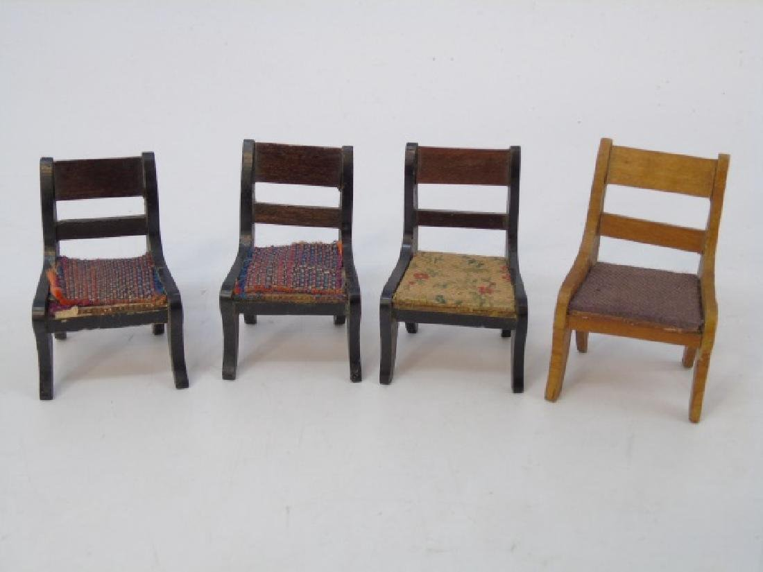 Antique Dollhouse Miniature Furniture & Objects - 4