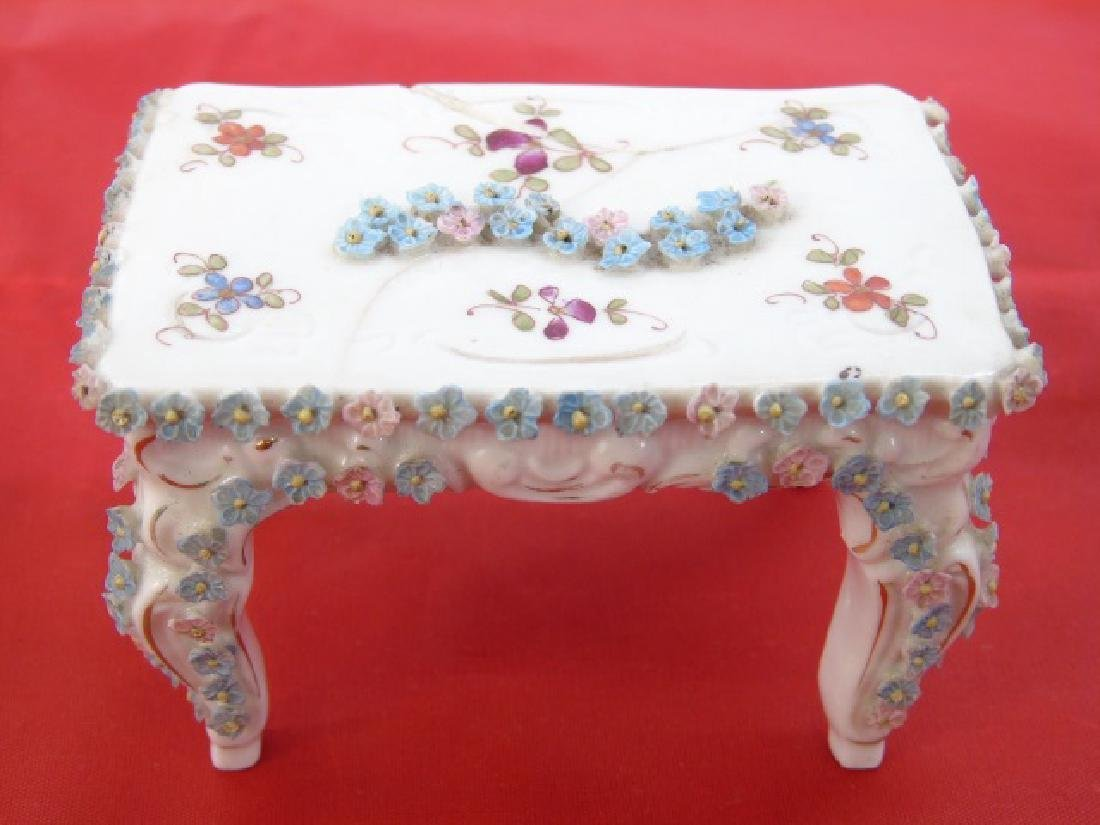 Antique Dollhouse Miniature Furniture & Objects - 5