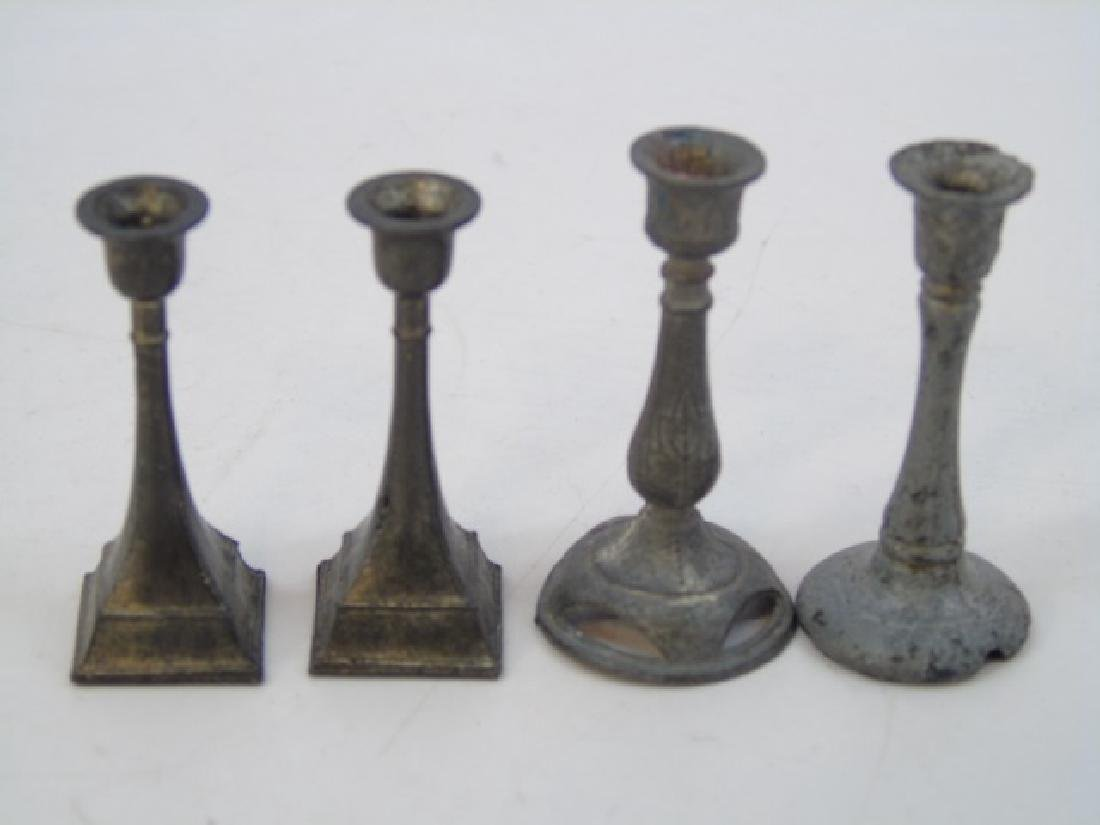Antique Dollhouse Miniature Furniture & Objects - 6