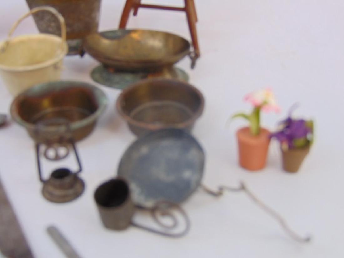 Antique 19th & 20 C Dollhouse Miniature Kitchen - 4