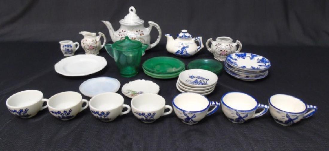 Antique & Vintage Doll & Dollhouse Porcelain Items