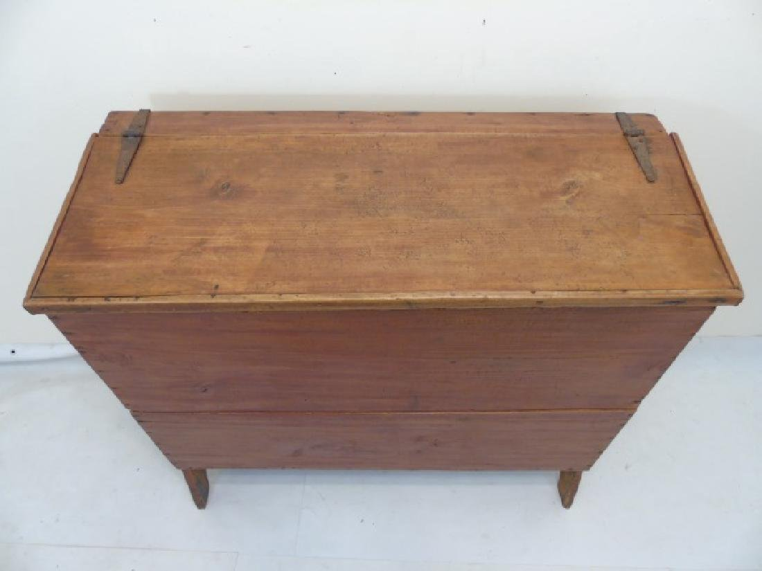 Antique Southern Sugar Chest Kentucky or Tennessee - 3