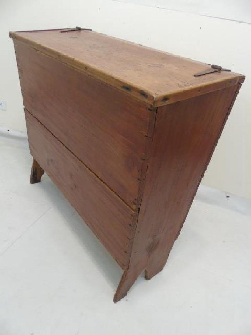 Antique Southern Sugar Chest Kentucky or Tennessee - 4