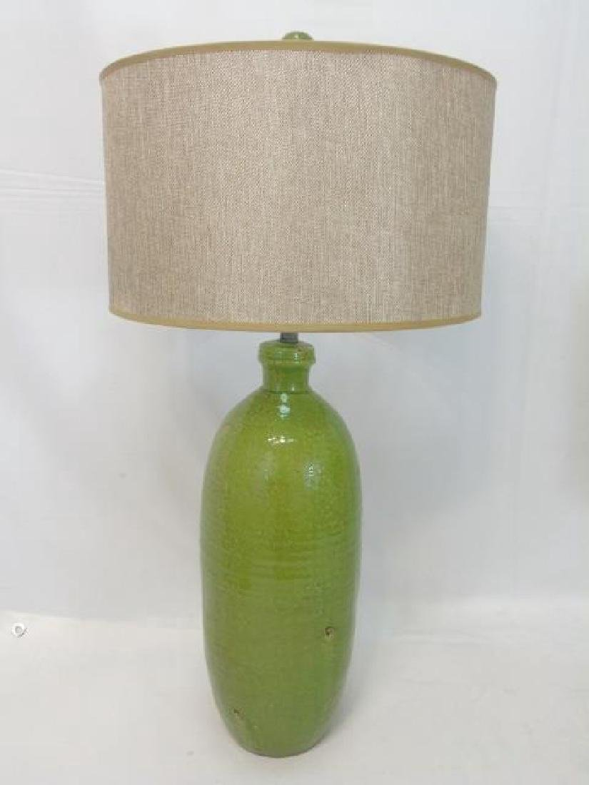 Two Contemporary Designer Table Lamps - 5