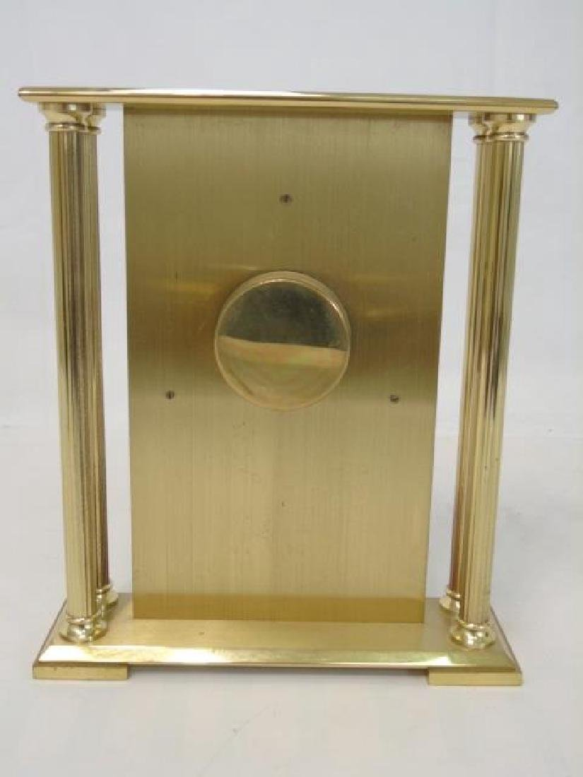 Vintage Longines Gold-Tone Table Quartz Clock - 2