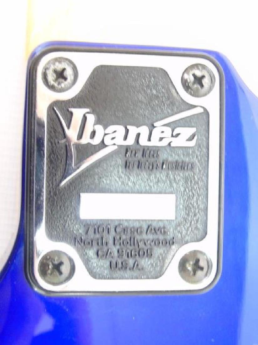 Ibanez Signature Electric Guitar - Blue - 2