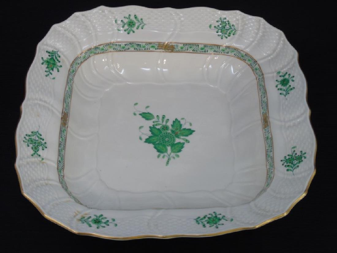 Herend of Hungary Square Bowl Chinese Bouquet
