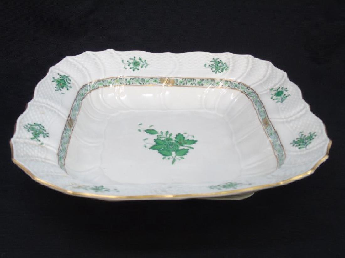 Herend of Hungary Square Bowl Chinese Bouquet - 3
