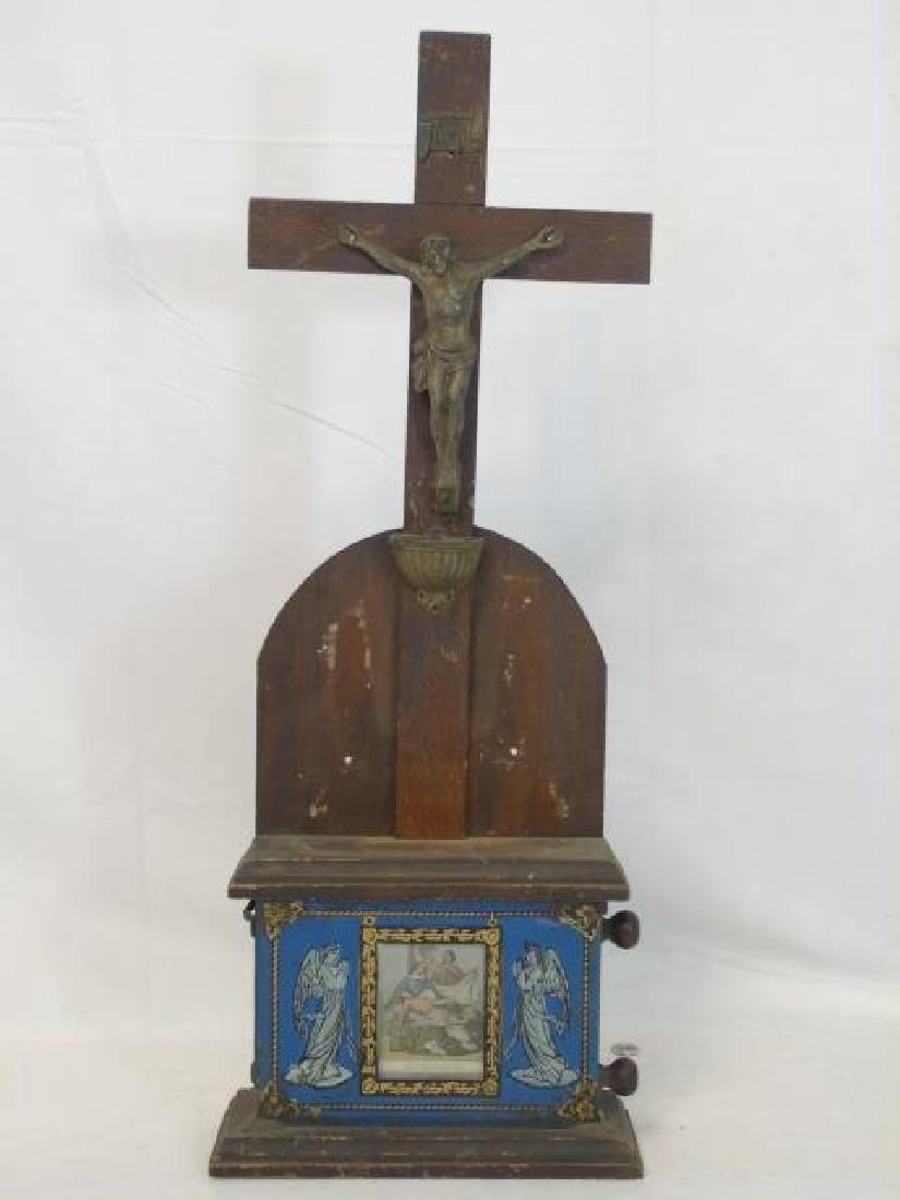 Catholic Altar Cross Stations of the Cross Scroll