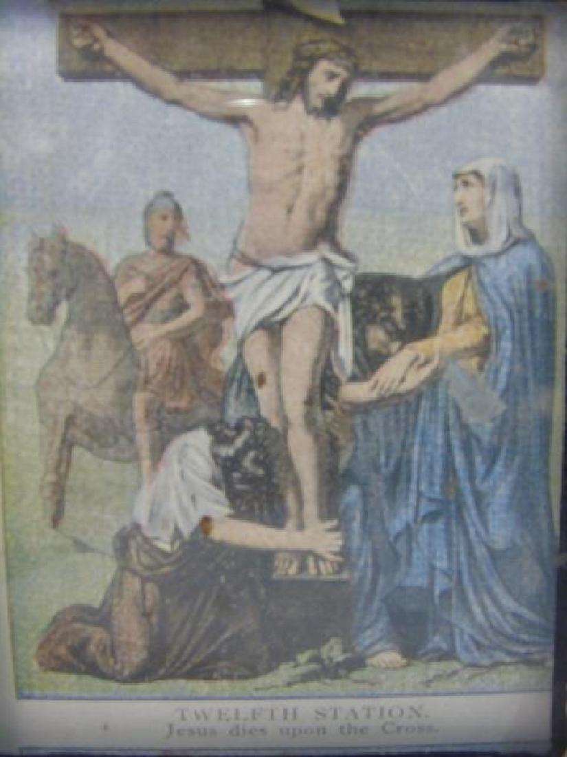 Catholic Altar Cross Stations of the Cross Scroll - 2
