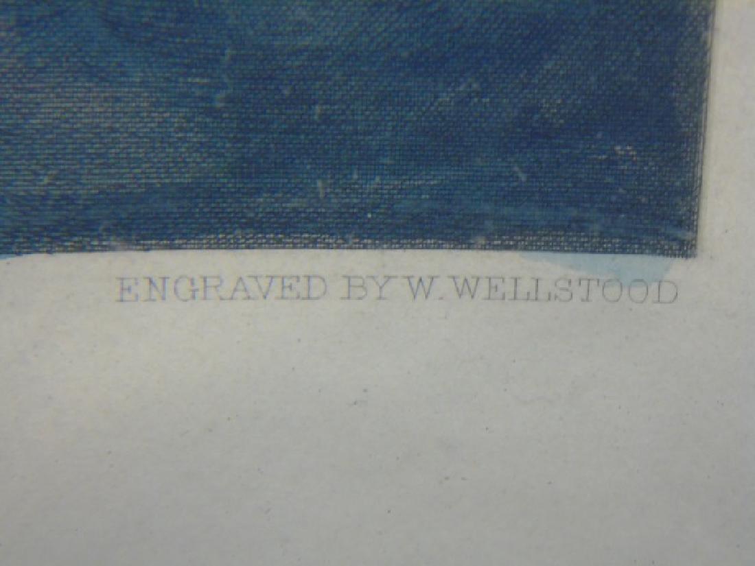"J Davidson - Signed Framed Print ""A Winning Yacht"" - 2"