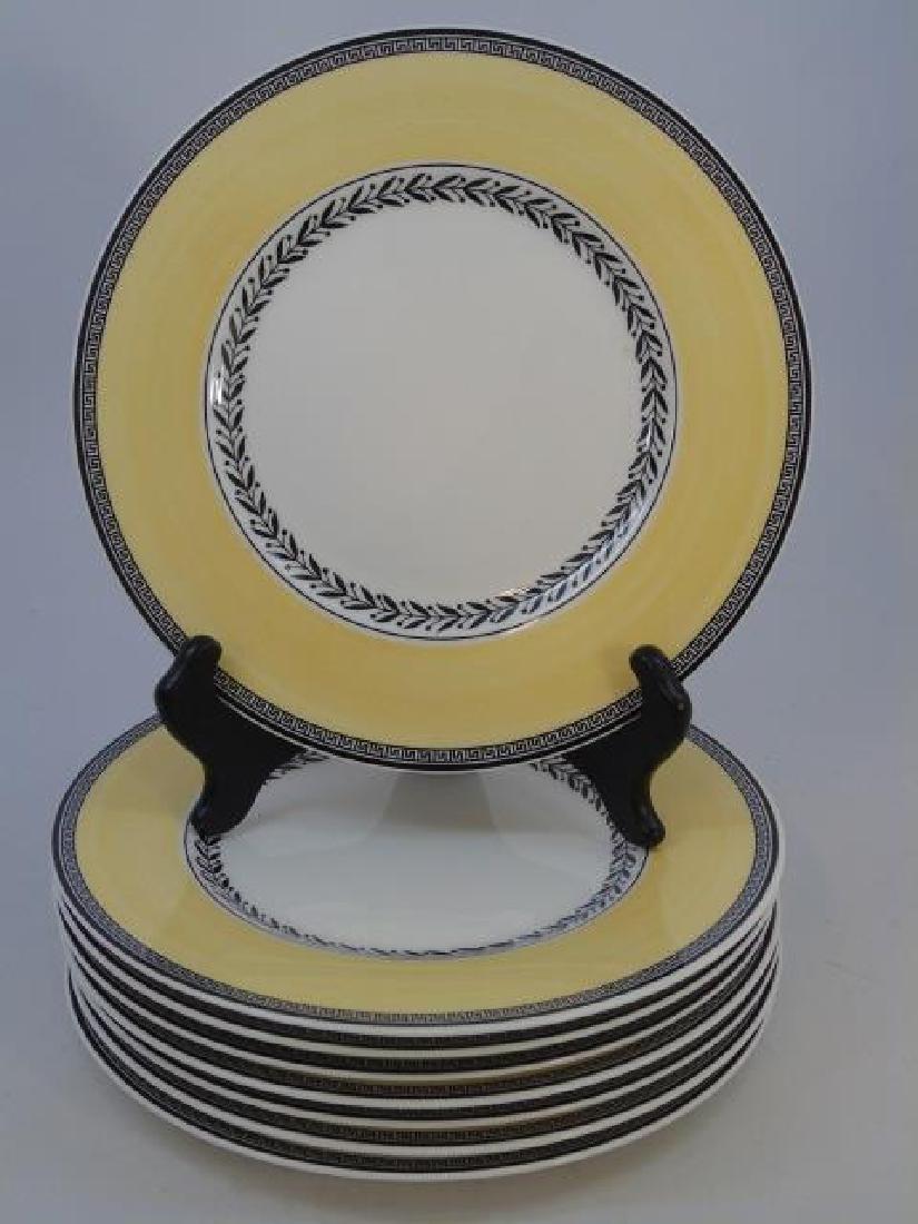 Eight New Villeroy & Boch Auden Fleur Plates