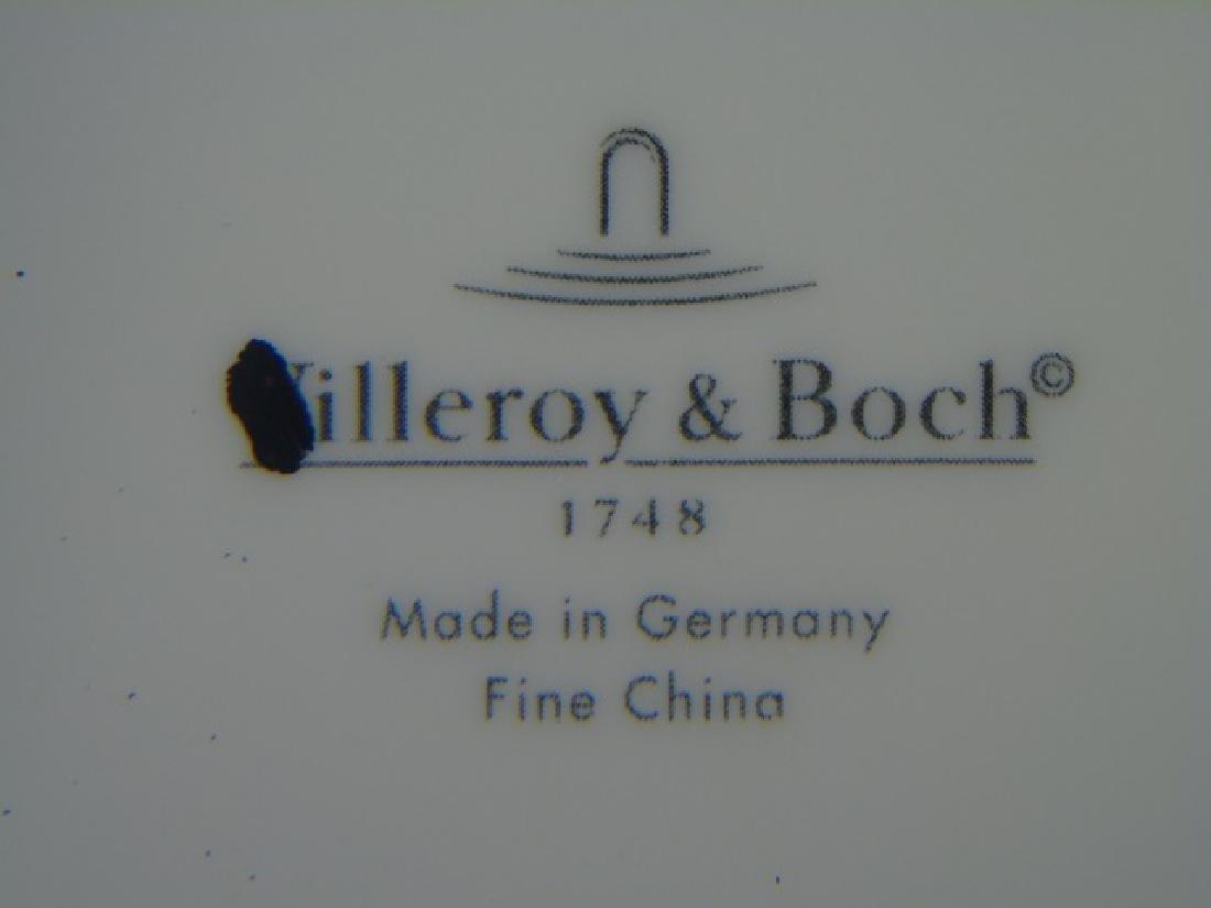 Eight New Villeroy & Boch Auden Fleur Plates - 2
