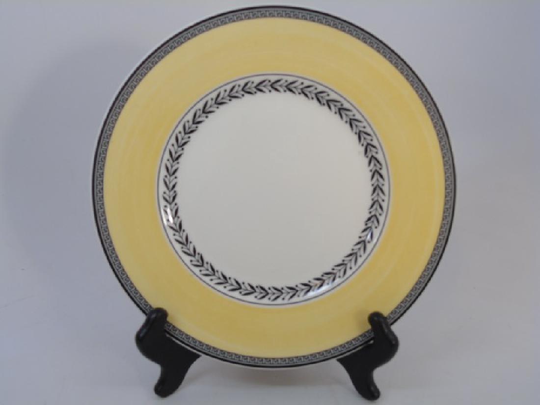 Eight New Villeroy & Boch Auden Fleur Plates - 3