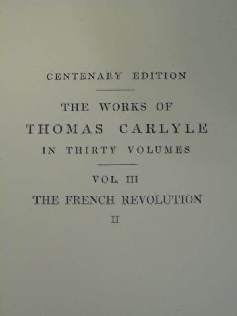 Collection of 21 Antique Volumes-Thomas Carlyle - 5