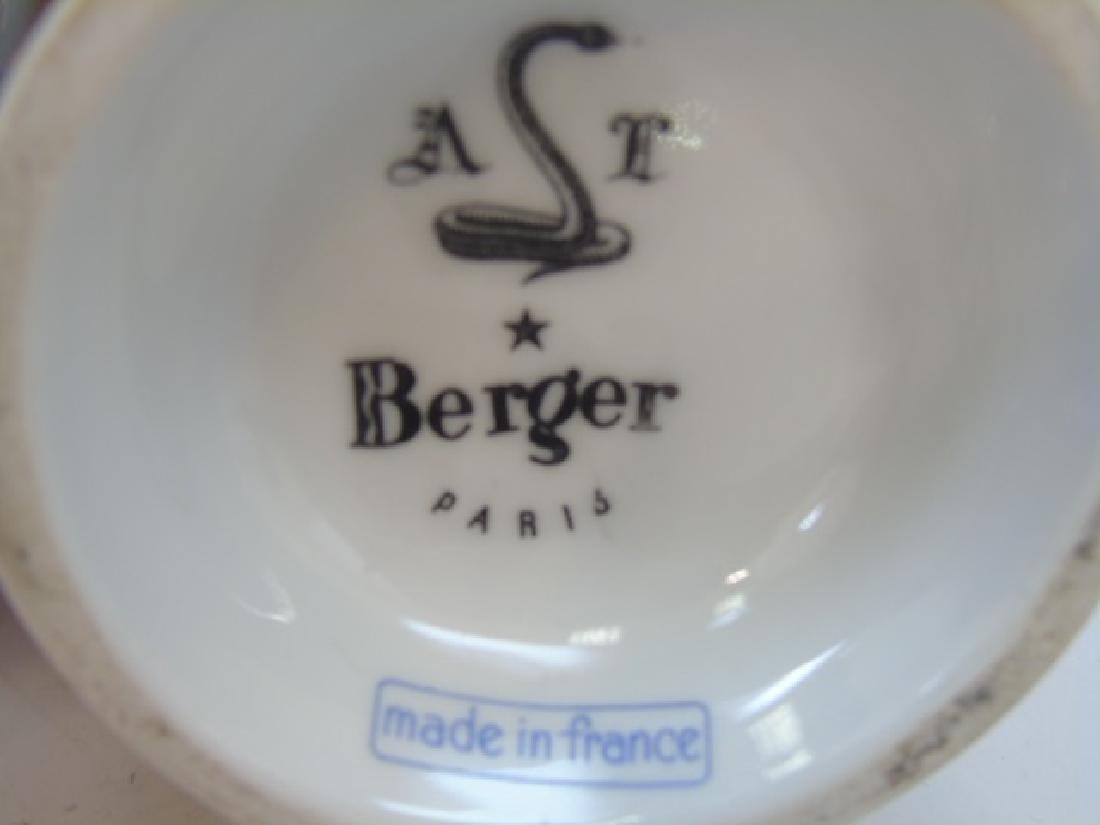 Berger Paris French Porcelain Perfume Bottles - 5