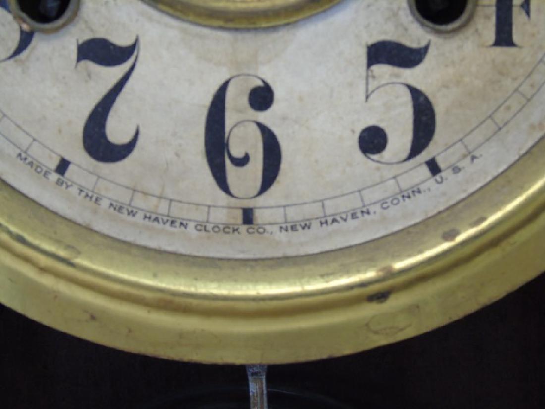 Antique American Gingerbread Victorian Clock - 4