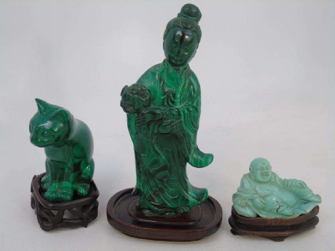 Group of Antique & Vintage Chinese Stone Carvings - 3