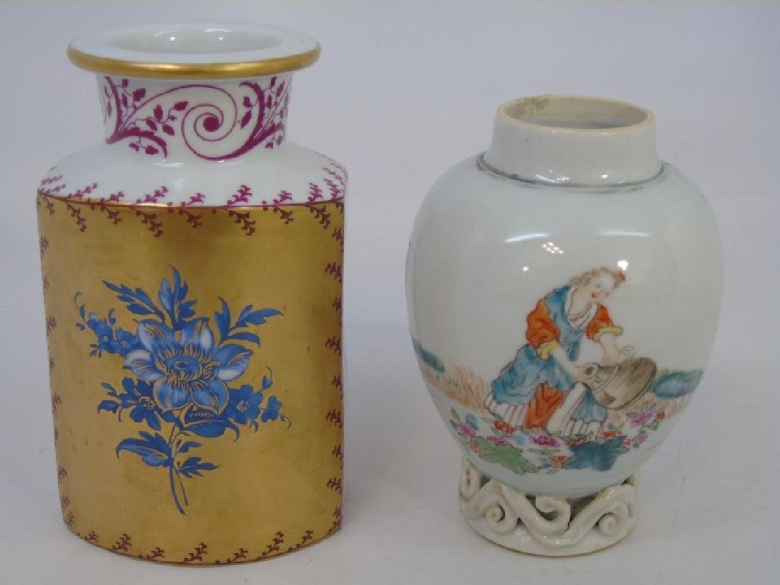 Assorted Antique Chinese & French Porcelain Items - 3
