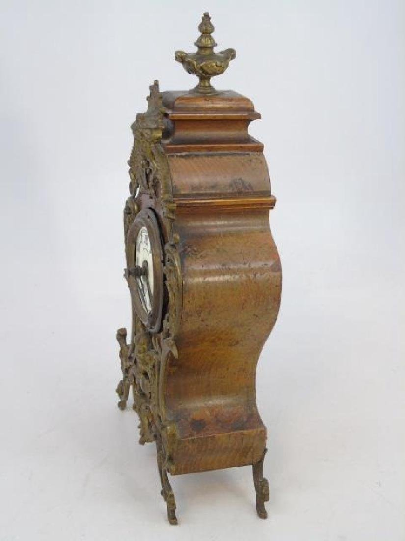 Antique Lenzkirch French Style Mantle Clock - 3