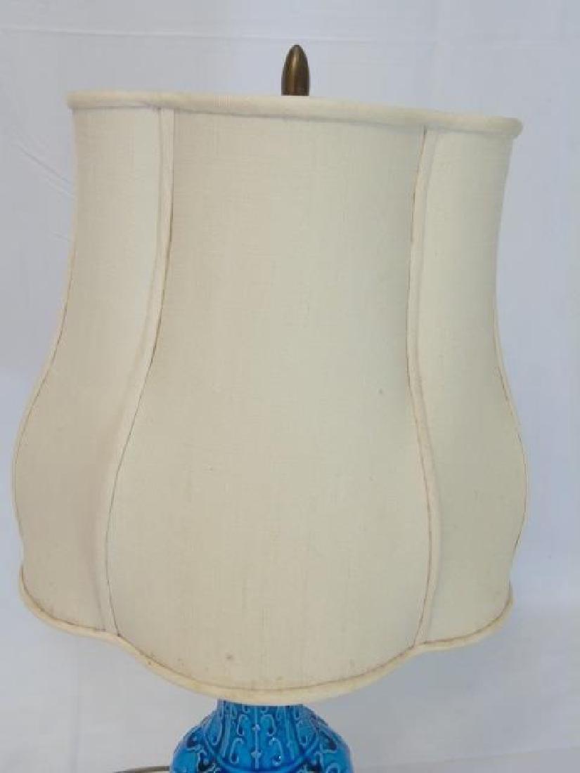 Antique Chinese Turquoise Porcelain Dragon Vase - 3