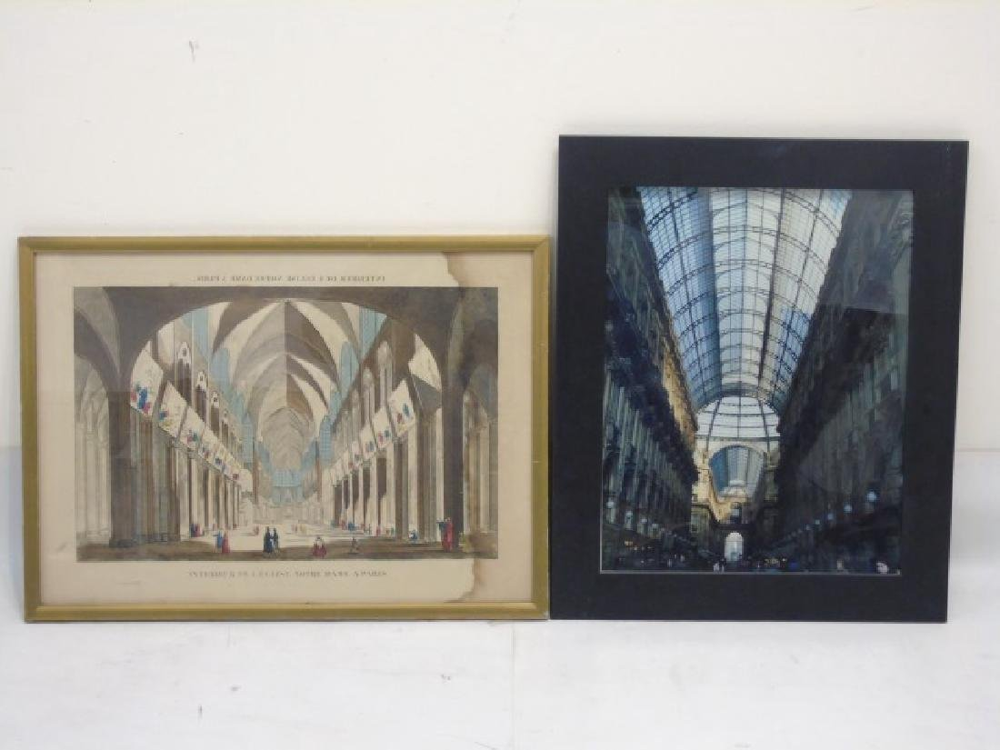 Collection of 9 Pieces with Architectural Subjects - 2