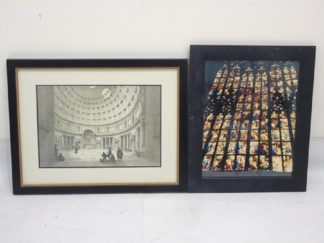 Collection of 9 Pieces with Architectural Subjects - 3