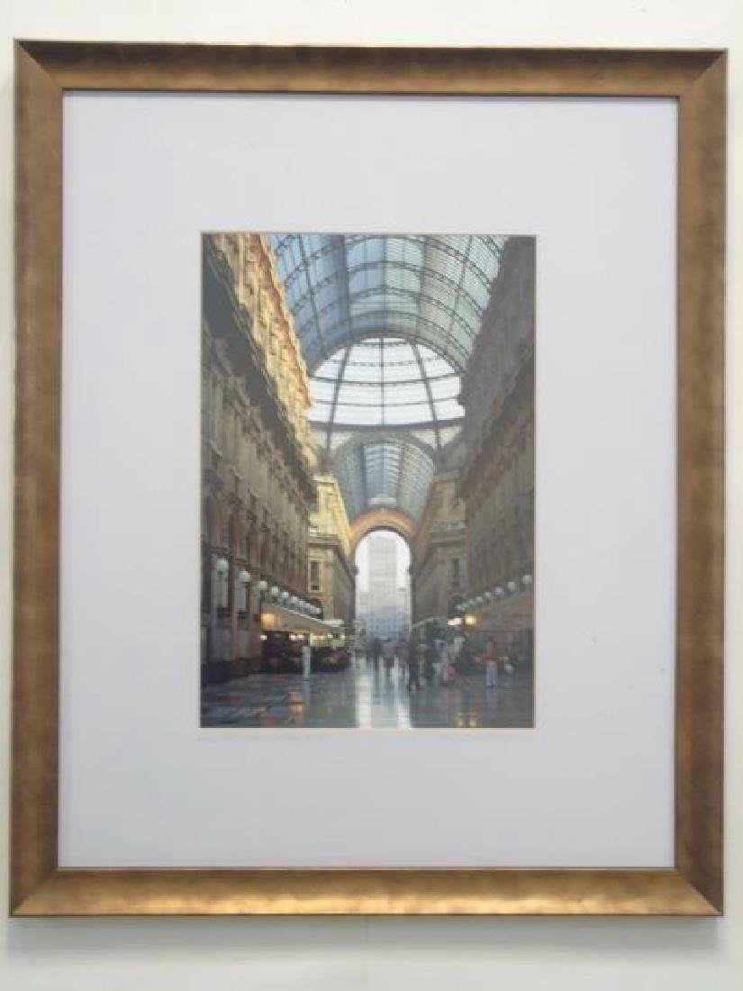 Collection of 9 Pieces with Architectural Subjects - 4