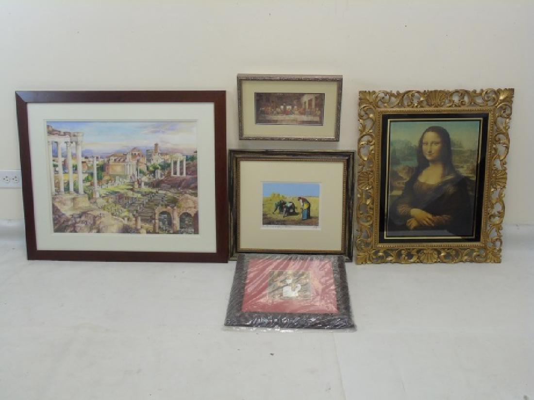 5 European-Inspired Framed Art Pieces
