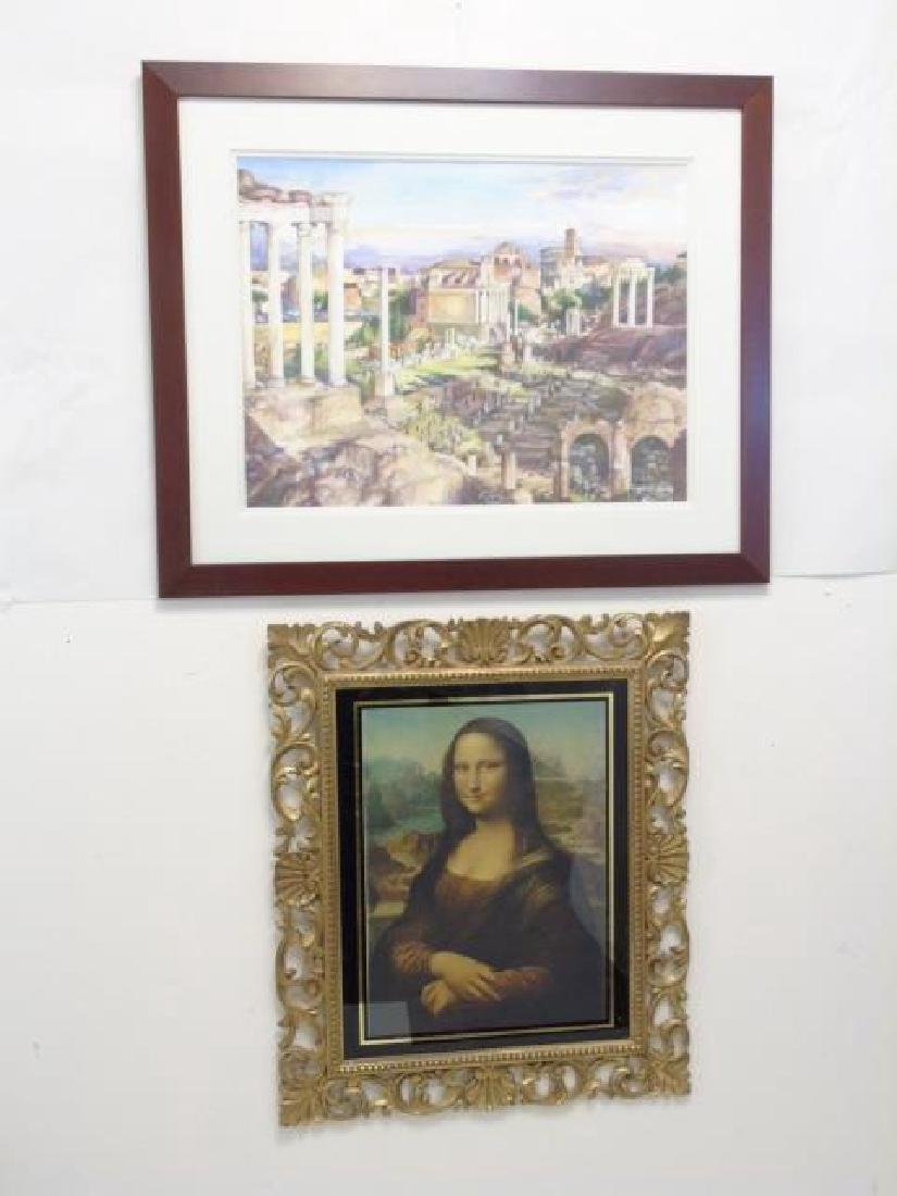 5 European-Inspired Framed Art Pieces - 2