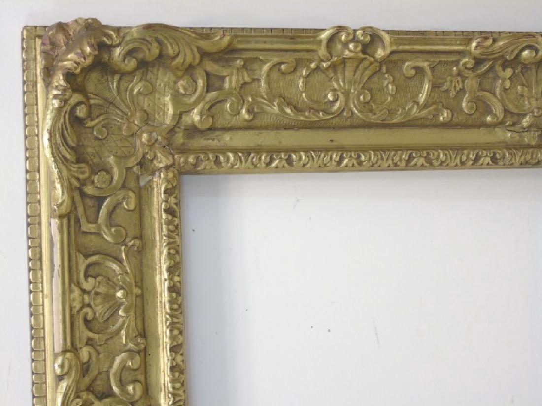 Antique Impressionist Style Gilt Wood Frame - 2