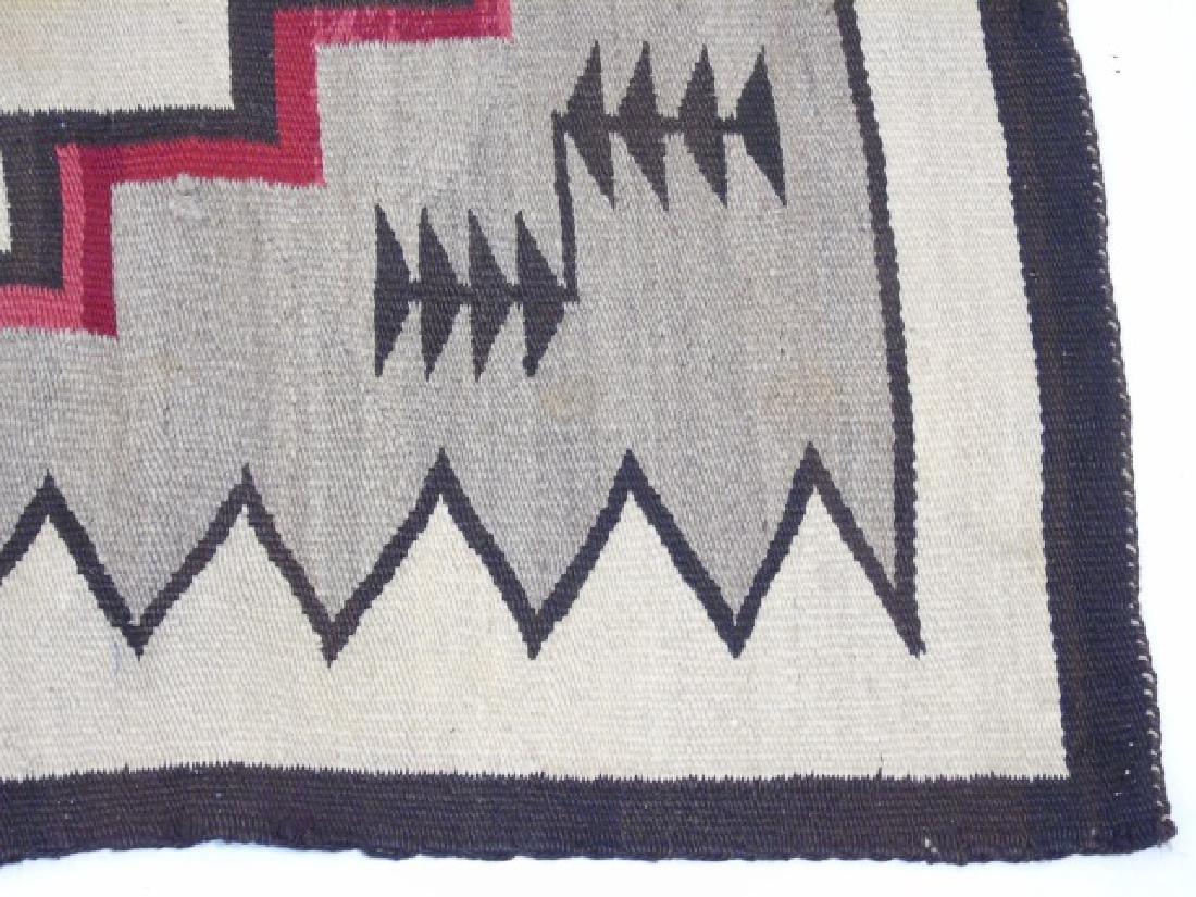 Two Heavy Fabric Woven Earthtone Rugs - 2